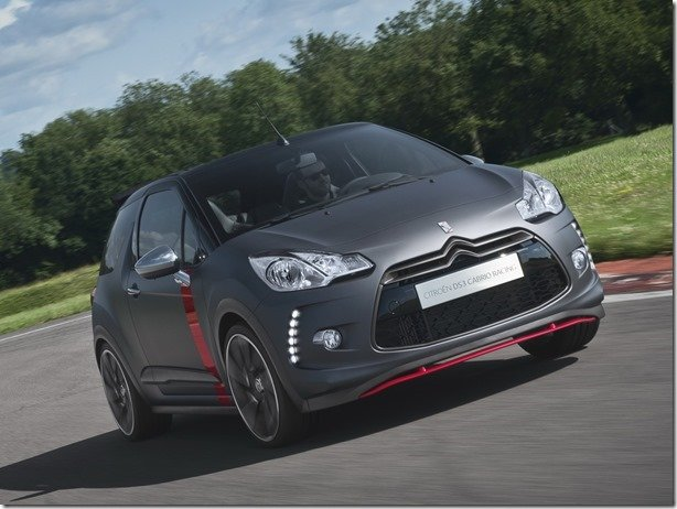 Citroën produzirá o DS3 Cabrio Racing