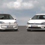 Volkswagen leva e-Golf e e-Up! a Frankfurt