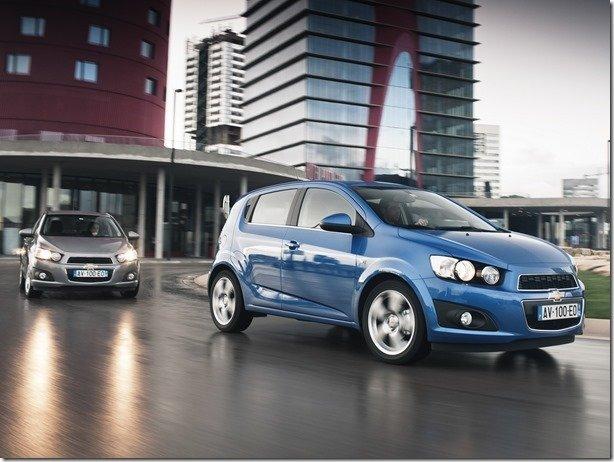 Novo Chevrolet Spark chega em 2015, mas nova geração do Sonic será adiada