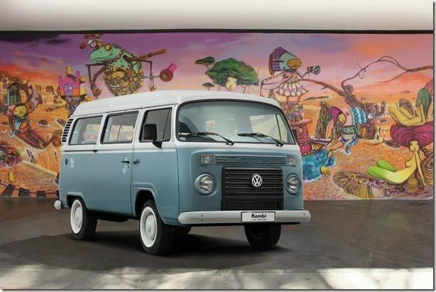 Volkswagen vai dobrar a produção da Kombi Last Edition