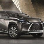 Lexus traz o anguloso LF-NX para Frankfurt