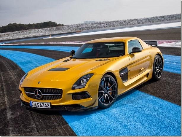 Mercedes SLS AMG Black Series chega em novembro por R$ 987.800