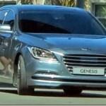 Novo Hyundai Genesis é flagrado sem camuflagem