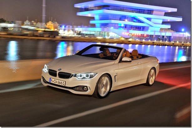 BMW apresenta versão conversível do Série 4