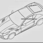 Seriam estes esboços a nova geração da Ferrari California?