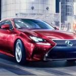 Lexus RC quer fazer frente aos cupês alemães