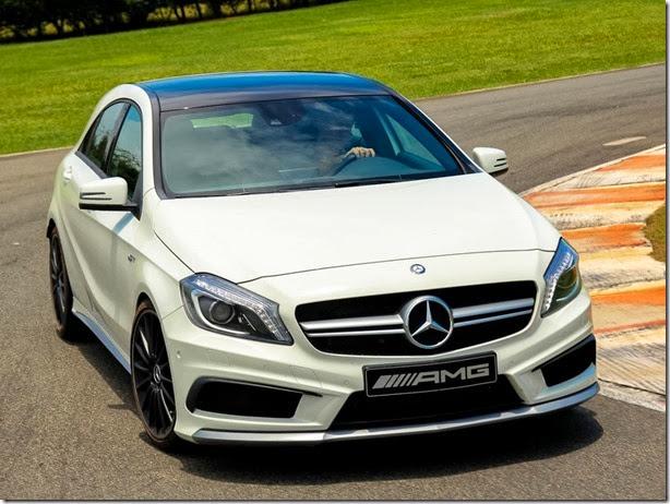 Mercedes A 45 AMG é lançado por R$ 259.900