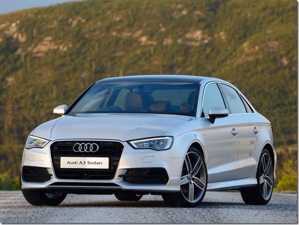 Audi A3 Sedan chega ao Brasil em janeiro