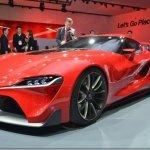 Toyota mostra o FT1 em escala real