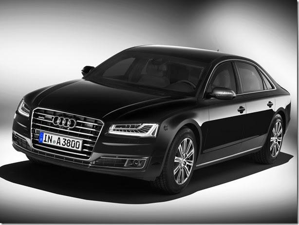 Novo Audi A8 L Security é à prova de bala e granadas
