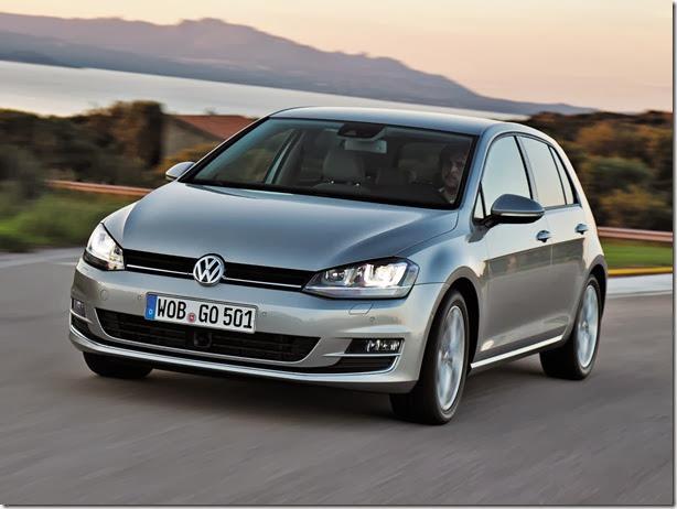 Volkswagen começa a produzir novo Golf no México
