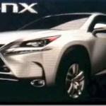 Lexus NX será revelado em Genebra