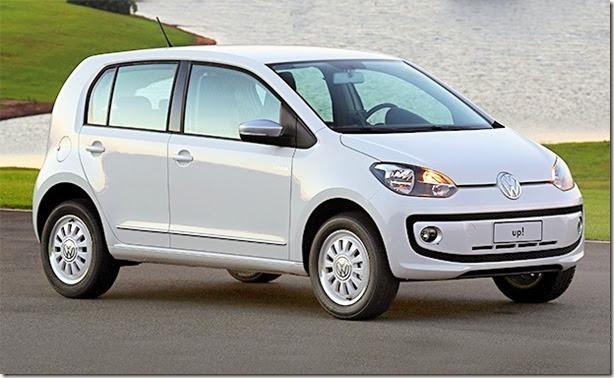 Esta é a primeira imagem do Volkswagen up! brasileiro