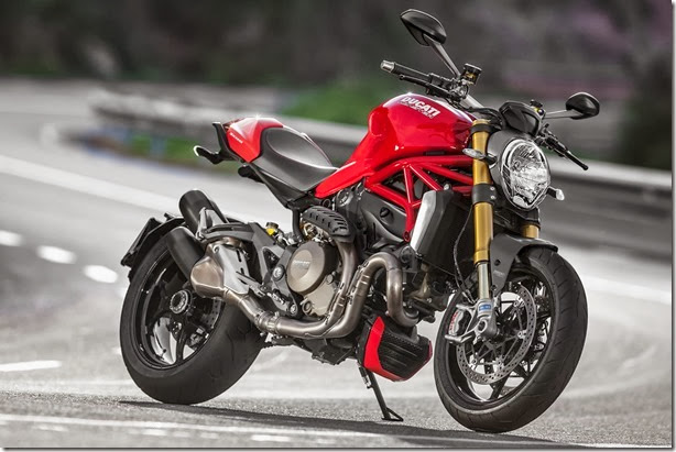 Ducati apresenta nova Monster 1200 e 1200 S