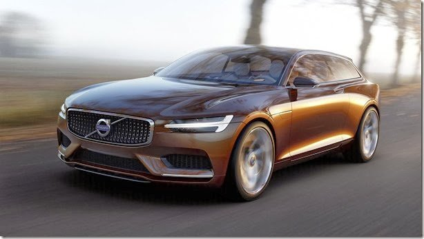 Volvo revela o Concept Estate