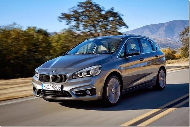 BMW revela o Série 2 Active Tourer