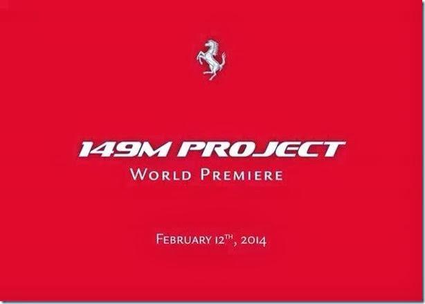 Sucessor da Ferrari California será revelado no próximo dia 12