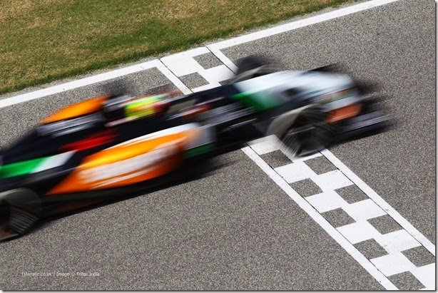 F1 2014 – Testes finais, dia 1