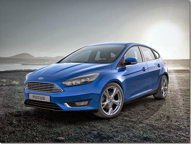 Oficial: Novo Ford Focus 2015