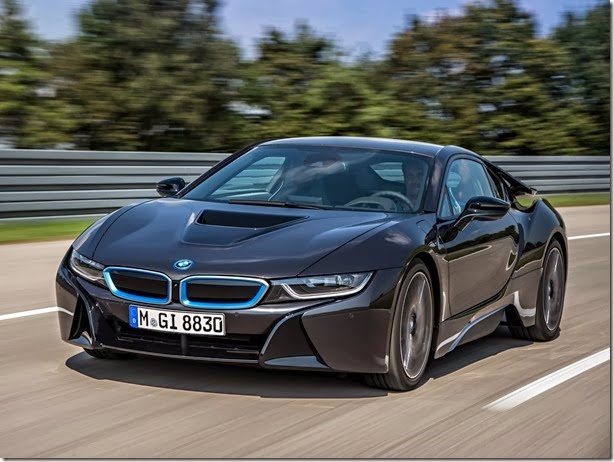 BMW i8 começa a ser produzido em abril