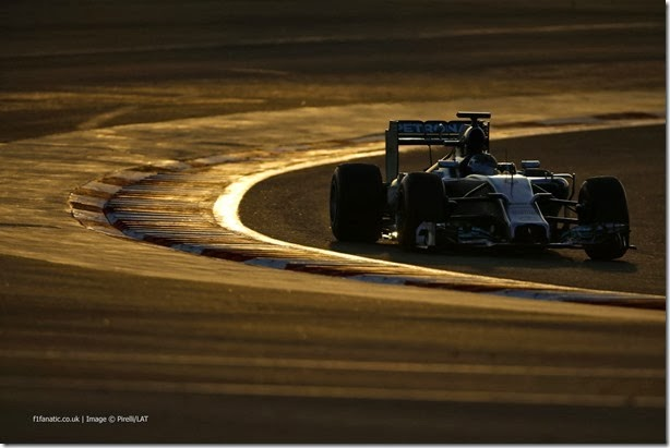 F1 2014 – Testes finais, dias 3 e 4