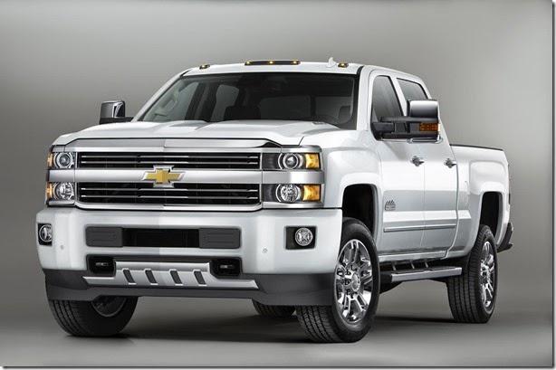 Chevrolet mostra Silverado High Country
