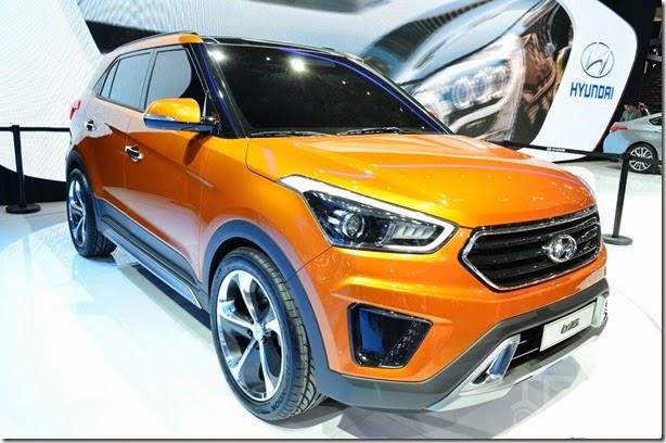 Este é o Hyundai Ix25 Concept