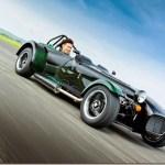 Kamui Kobayashi ganha série especial do Caterham Seven no Japão