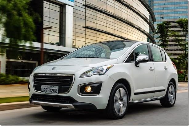 De cara nova, Peugeot 3008 2015 chega por R$ 99.990