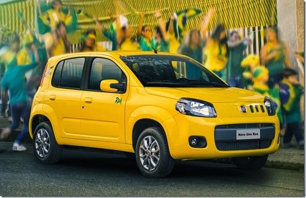 Série especial, Fiat Uno Rua tem tem motor 1.0 e custa R$ 33.590