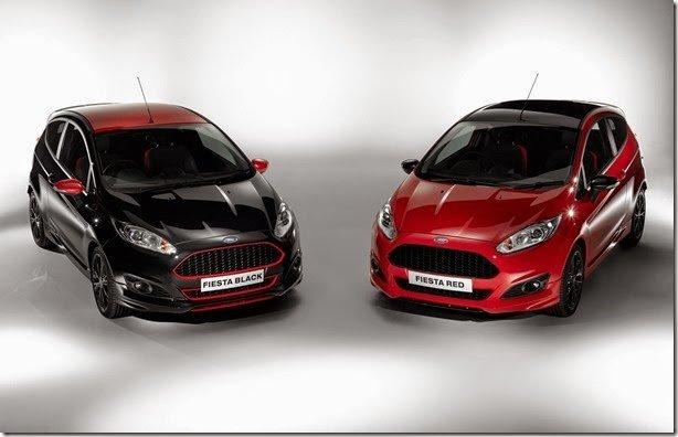 Ford Fiesta Red e Black Edition estreiam 1.0 de 140cv