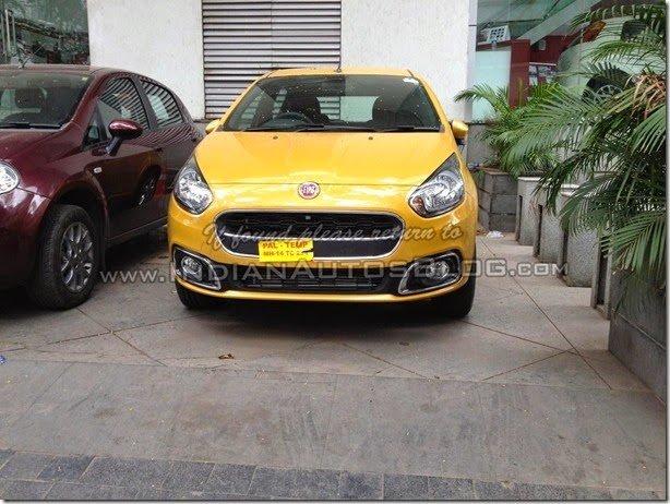 Fiat Punto reestilizado é flagrado na Índia