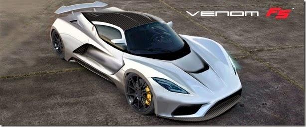 Hennessey Venom F5 quer superar os 466km/h