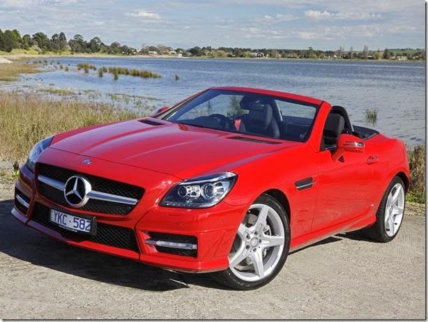 Mercedes convoca SL e SLK passam para recall no Brasil