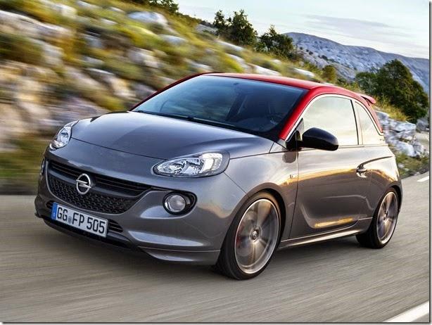 Este é o Opel Adam S