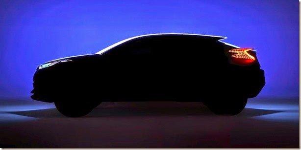 Toyota C-HR é antecipado por teaser