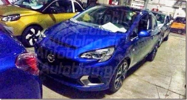 Flagra mostra o novo Opel Corsa OPC