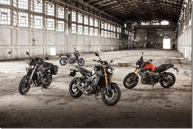 Yamaha apresenta a inovadora MT-09