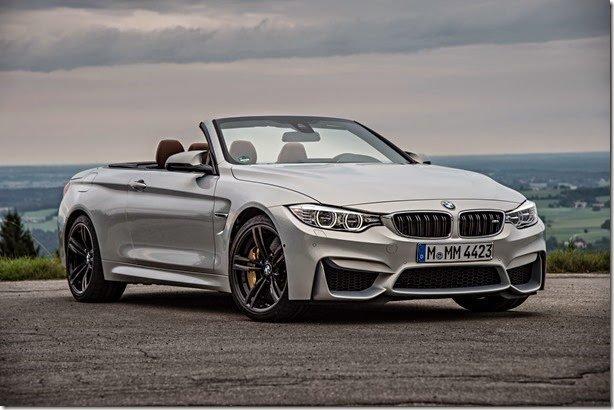 BMW anuncia M4 Cabrio no Brasil