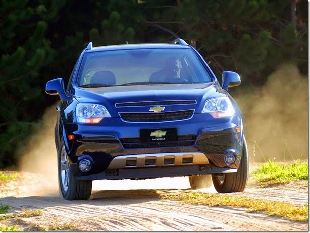 Imprensa mexicana diz que Chevrolet Captiva sai de linha em novembro