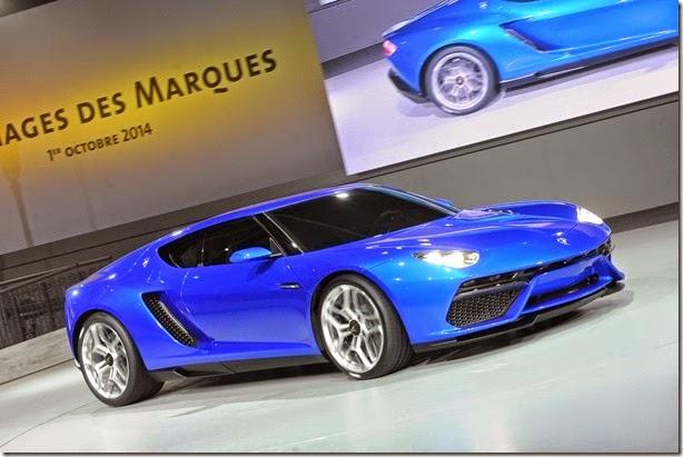 Lamborghini Asterion é o conceito híbrido mais surpreendente do Salão de Paris