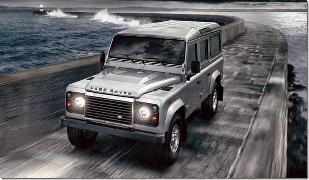 Land Rover Defender é convocado para recall