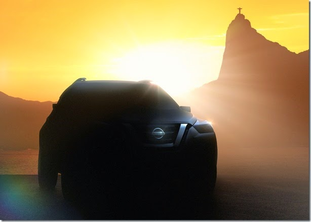 Nissan divulga teaser de novo conceito de SUV compacto