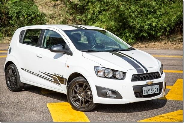 Chevrolet Sonic está envolvido em recall por risco de incêndio
