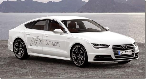 Audi apresenta o Sportback H-tron, movido a hidrogênio