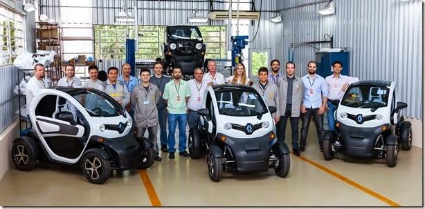 Elétrico, Renault Twizy começa a ser montado no Brasil