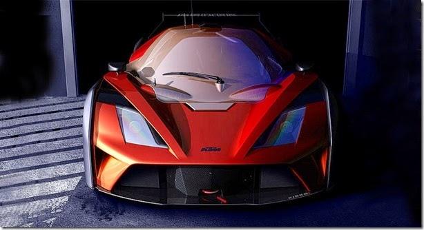 KTM divulga teaser do X-Bow GT4