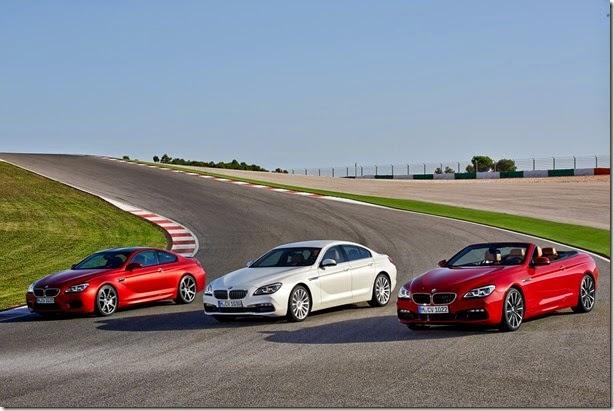 BMW Série 6 2015 tem visual atualizado