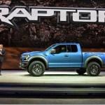 Próxima geração da Ford F-150 Raptor é apresentada no Salão de Detroit