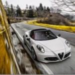 Alfa Romeo 4C Spider é lançado em Detroit